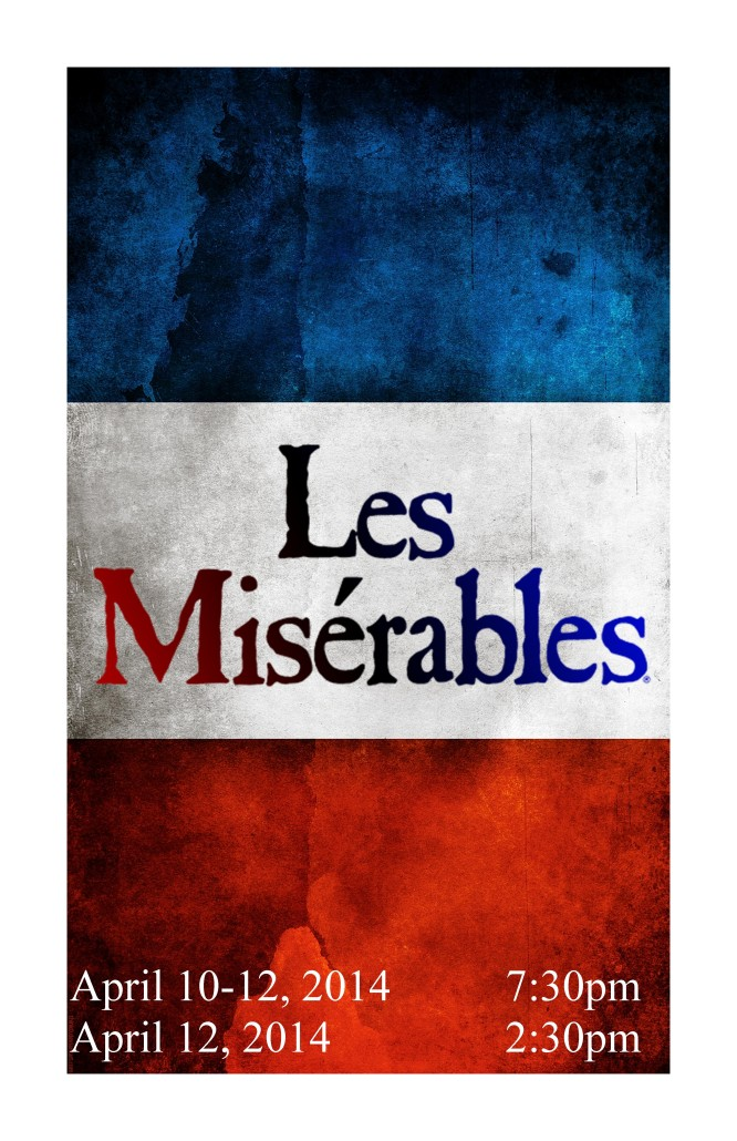 LES MISERABLES 11 x 17 poster